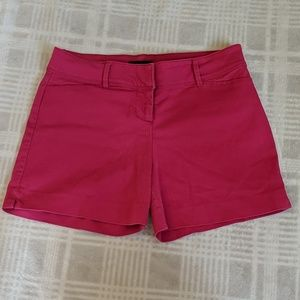 The Limited Stretchy Bright Pink Shorts
